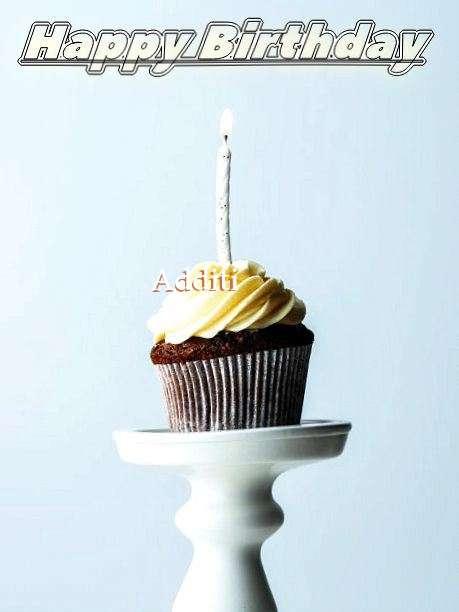 Happy Birthday Additi Cake Image
