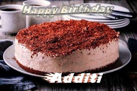 Happy Birthday Cake for Additi