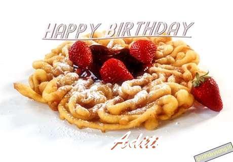 Happy Birthday Wishes for Aditi