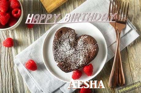 Happy Birthday to You Aesha