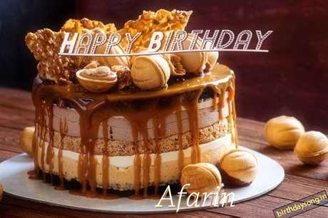 Happy Birthday Afarin
