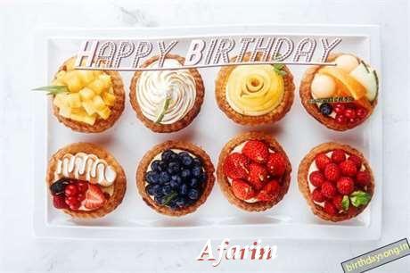 Happy Birthday Cake for Afarin