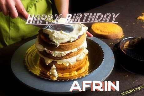 Happy Birthday to You Afrin