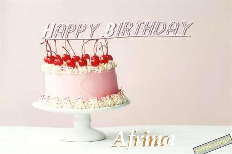 Happy Birthday to You Afrina