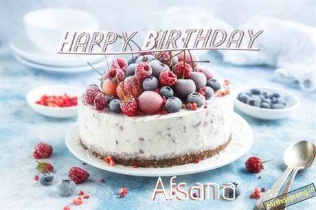 Happy Birthday Afsana