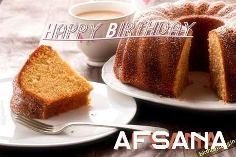 Happy Birthday to You Afsana