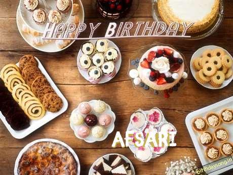 Happy Birthday Afsari