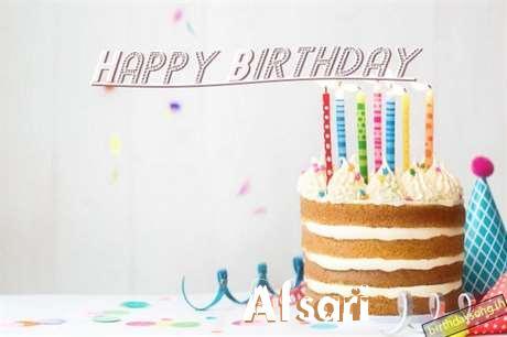 Happy Birthday Afsari Cake Image