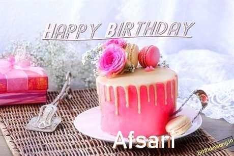 Happy Birthday to You Afsari
