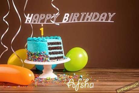 Afsha Birthday Celebration