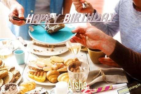 Happy Birthday to You Afsha
