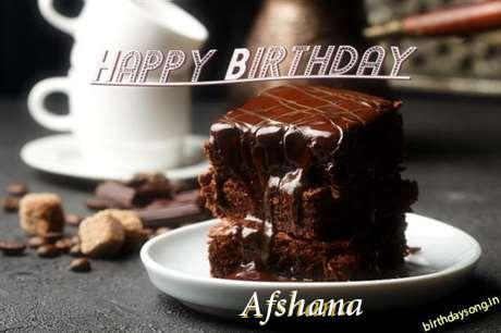 Afshana Birthday Celebration