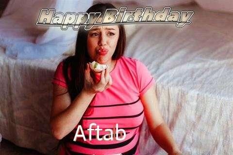 Happy Birthday to You Aftab