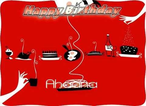 Happy Birthday Wishes for Ahaana