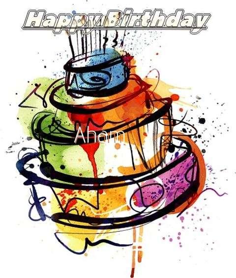 Happy Birthday Aham