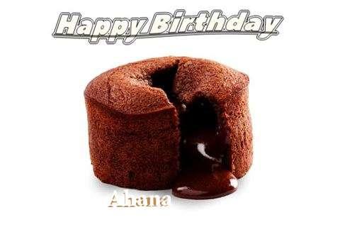 Ahana Cakes