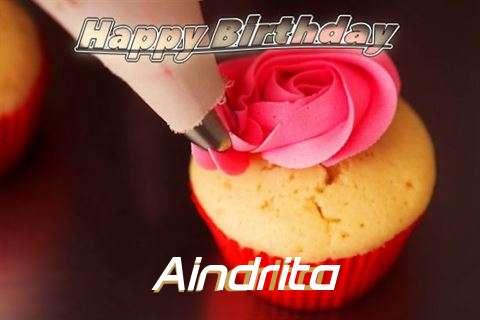 Happy Birthday Wishes for Aindrita