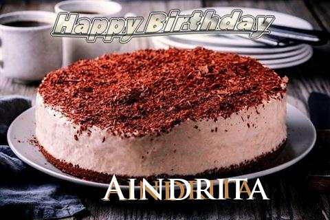 Happy Birthday Cake for Aindrita