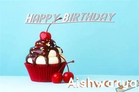 Happy Birthday Aishwarya Cake Image