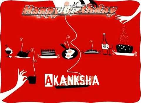 Happy Birthday Wishes for Akanksha