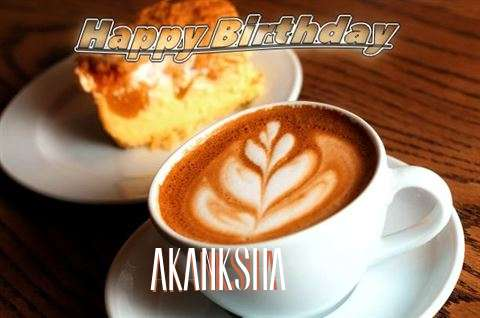 Happy Birthday Cake for Akanksha