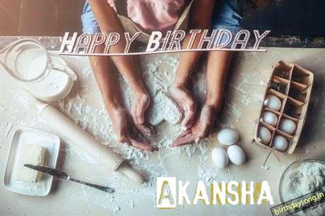 Birthday Wishes with Images of Akansha