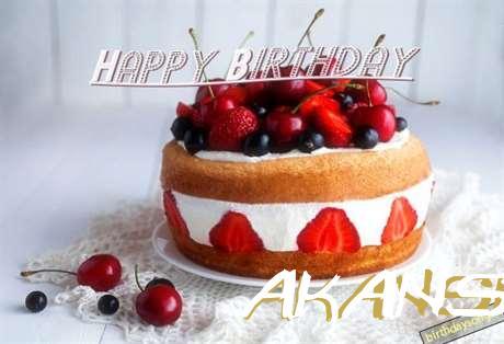 Birthday Images for Akansha