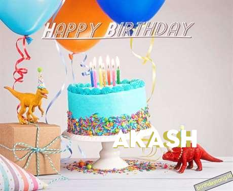 Birthday Images for Akash