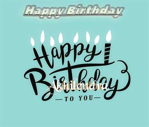 Happy Birthday Akhilendra