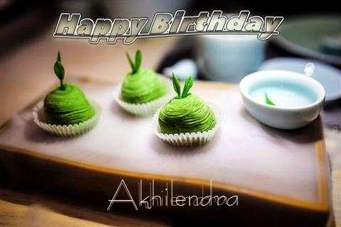 Happy Birthday Akhilendra Cake Image
