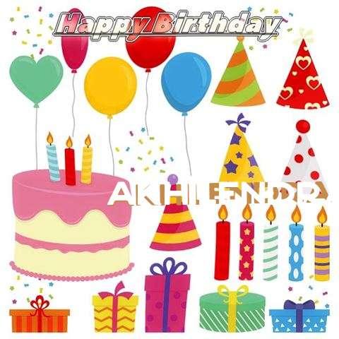 Happy Birthday Wishes for Akhilendra