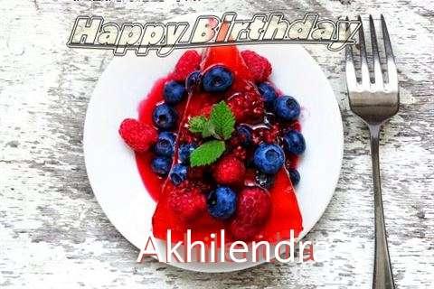 Happy Birthday Cake for Akhilendra