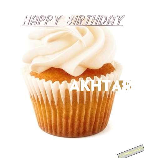 Happy Birthday Wishes for Akhtari