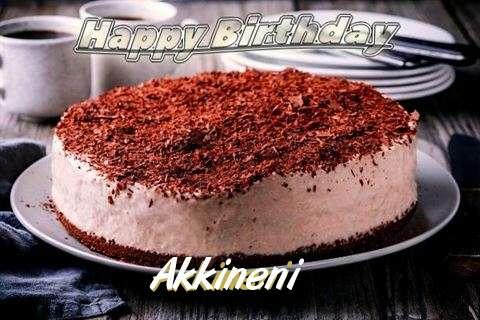 Happy Birthday Cake for Akkineni
