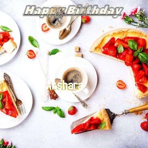 Happy Birthday Akshara