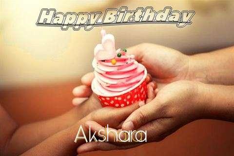 Happy Birthday to You Akshara