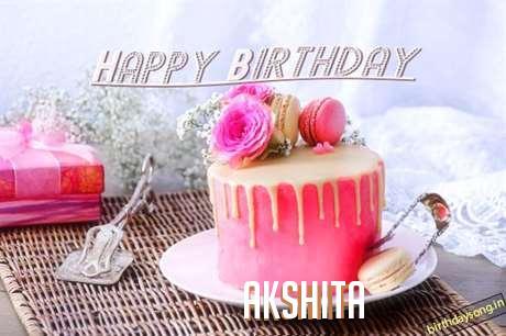 Happy Birthday to You Akshita