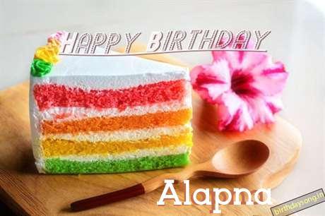 Happy Birthday Alapna Cake Image