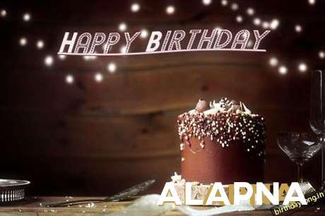 Happy Birthday Cake for Alapna