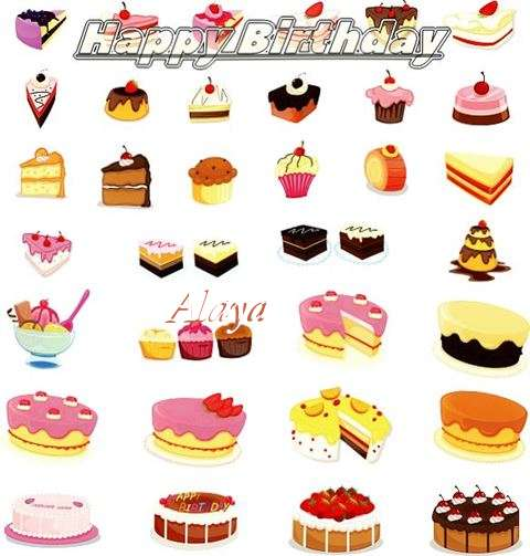 Birthday Images for Alaya