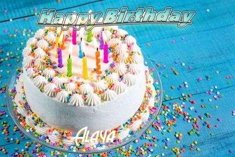 Happy Birthday Wishes for Alaya