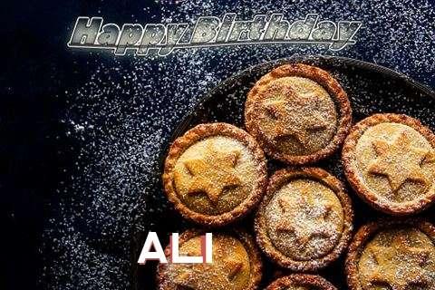 Happy Birthday Wishes for Ali