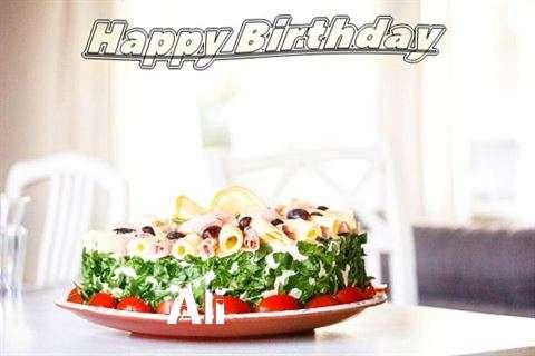 Happy Birthday to You Ali