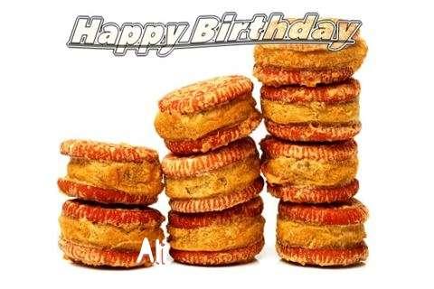 Happy Birthday Cake for Ali