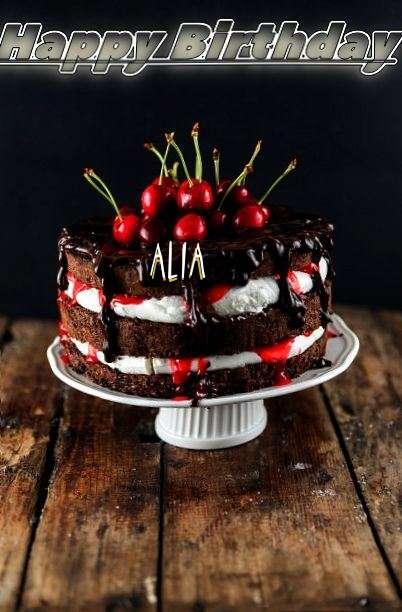 Happy Birthday Alia