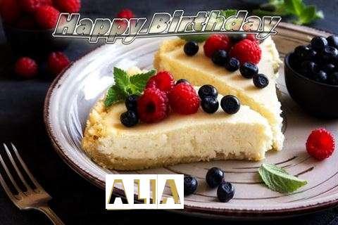 Happy Birthday Wishes for Alia