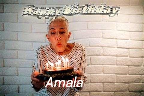 Birthday Wishes with Images of Amala