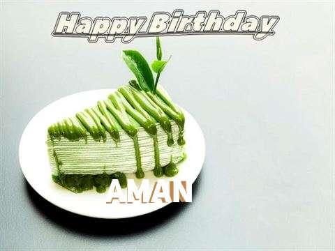 Happy Birthday Aman