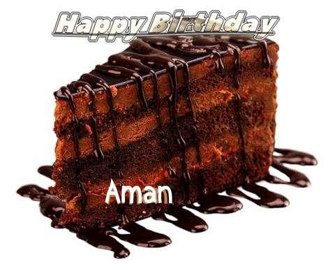 Happy Birthday to You Aman