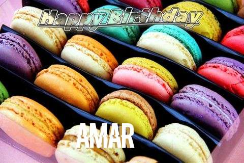 Happy Birthday Amar Cake Image